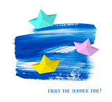 Enjoy the summer time card