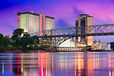 Shreveport, Louisiana Skyline
