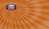 Mountain Lion Football Coaching  Business Card