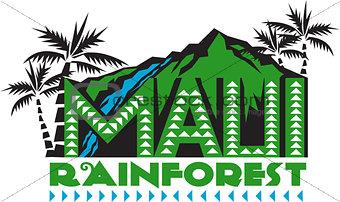 Maui Rainforest Retro