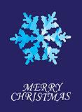 vector snowflake background