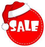 Christmas sale tag