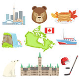 Canadian National Symbols Set