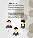 Vector elements for infographic