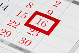 Easter date on calendar