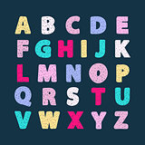 Alphabet vector creative abc
