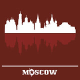 Skyline of Moscow Kremlin, Russia