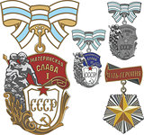 Soviet Orders of Maternal Glory and Mother Heroine