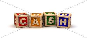 Cash Text Cubes