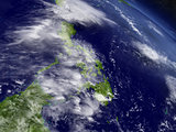 Philippines from space