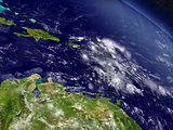 South Caribbean from space