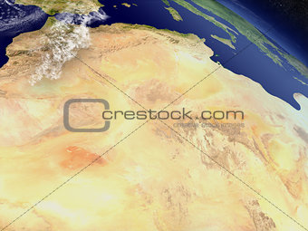 Algeria from space