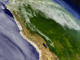 Peru from space