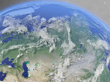 Russia from space