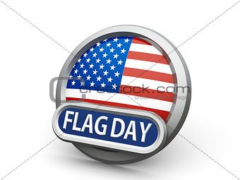 American Flag Day icon