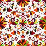 Otomi Style Seamless Pattern