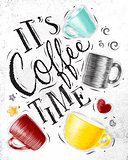 Poster coffee time