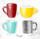 Set cups