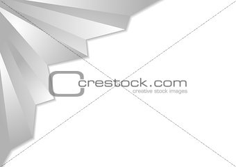 Grey corporate abstract background