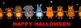 funny halloween animals