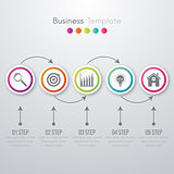 Vector illustration infographic