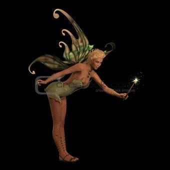 Fairy Anouk on Black
