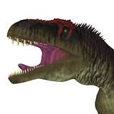 Tyrannotitan Dinosaur Head