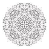 Mandala. Vintage hand drawn decorative vector