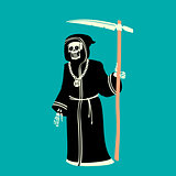 Death Character Vector Illustration