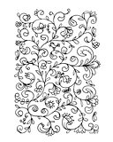 Floral pattern, sketch for your design