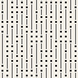 Vector Seamless Black And White Irregular Vertical Lines Pattern
