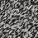 Vector Seamless Irregular Diagonal Dash Lines Pattern