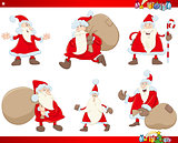 santa claus christmas set