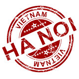 Red Ha Noi stamp