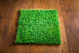 Artificial turf tile