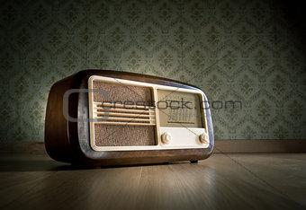 Old fashioned radio