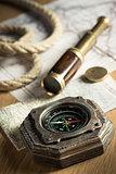 Vintage explorer equipment