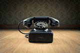 Black 1950s phone