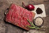 Elegant food preparation: meat