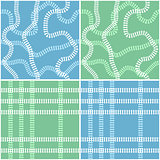 Seamless railroad background set