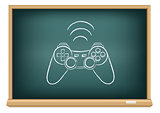 The blackboard gamepad