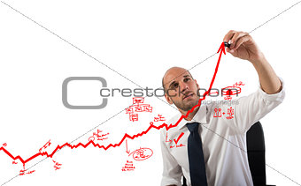 Business statistics uphill