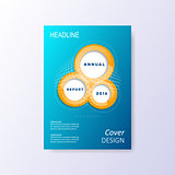Vector brochure template layout cover design