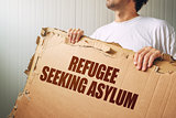 Refugee seeking asylum in foreign country