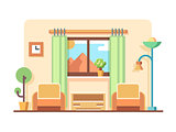 Living room concept illustration