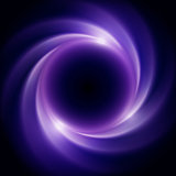 Black Hole in Outer Space. Abstract background
