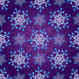 Seamless dark violet christmas pattern
