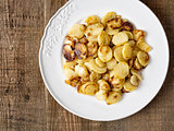 rustic german bratkartofflen fried potatoes