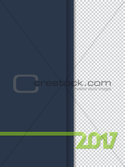 2017 notepad cover design
