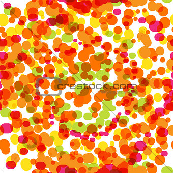 Abstract Dotted Seamless Pattern Background Vector Illustration